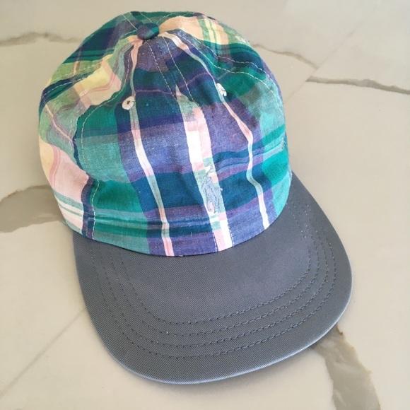c9af475d585 POLO RALPH LAUREN ~ vintage blue plaid dad hat. M 5b15b3aa7386bc7839958474.  Other Accessories ...
